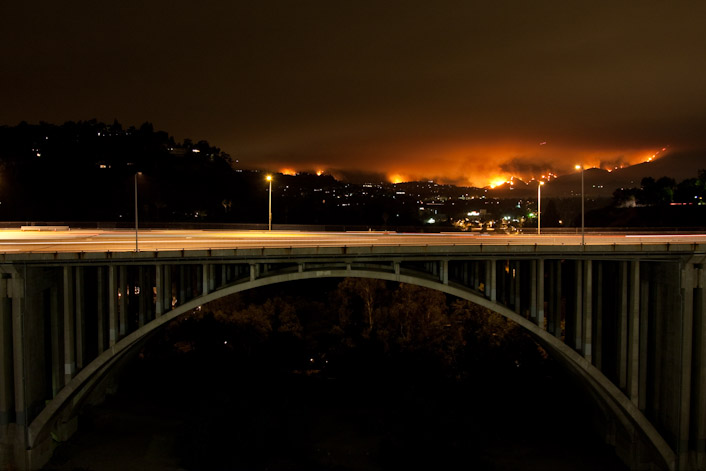 Station Fire and the Colorado Bridge