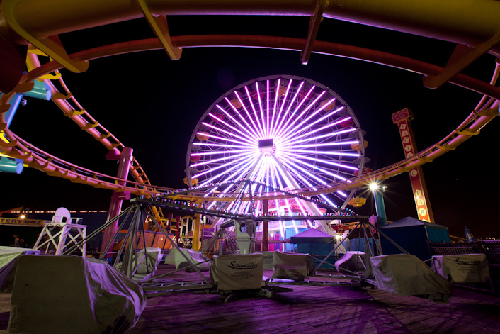 Pacific Park Ferris Wheel, Santa Monica Pier