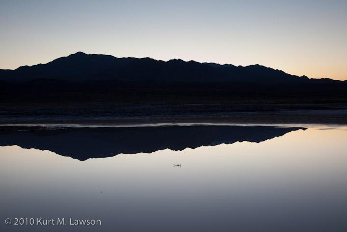 Pre-dawn symmetry