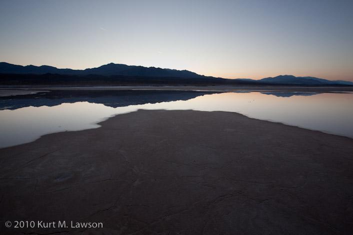Pre-dawn glow