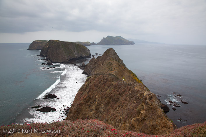 Inspiration Point on Anacapa Island