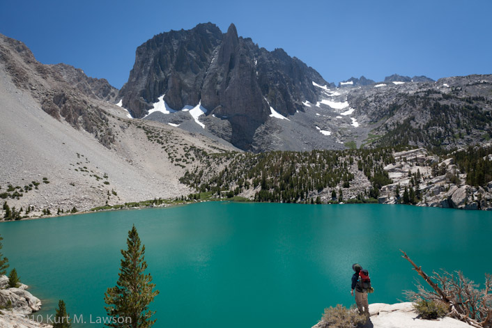Temple Crag, Second Lake, and Kurt