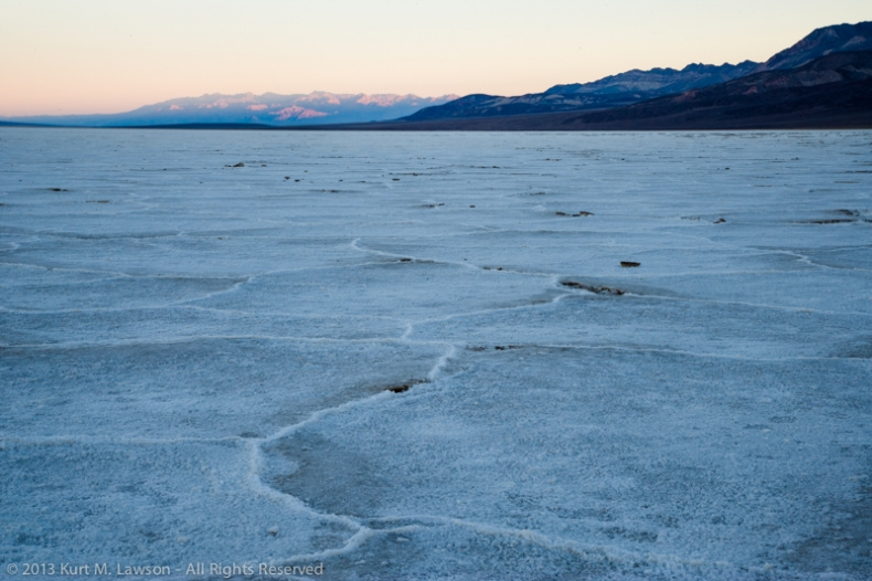 A northern view at Badwater in 2008