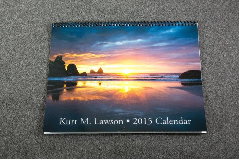2015 Calendar - Cover