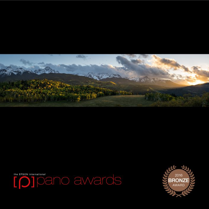 Sneffels Sunset, Bronze in Open and Amateur Awards