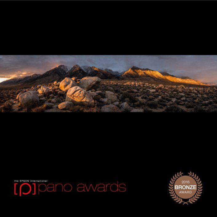 Sierra Crest Sunrise, Bronze in Open and Amateur Awards