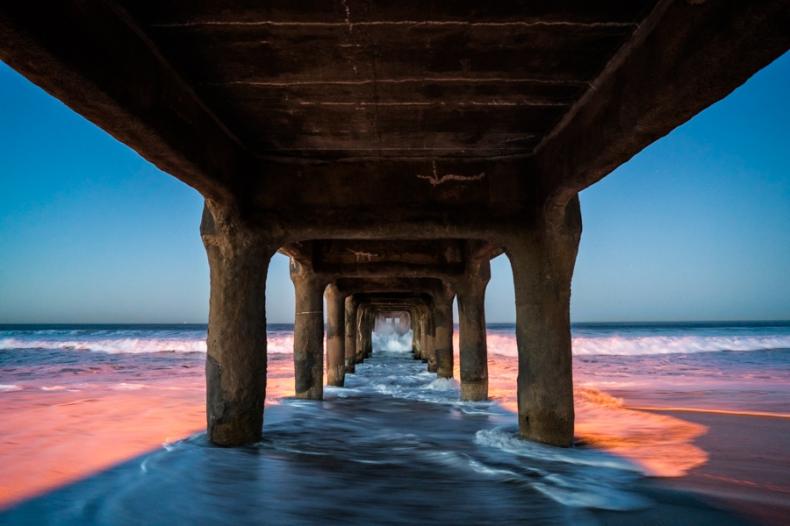 Dawn Under The Pier
