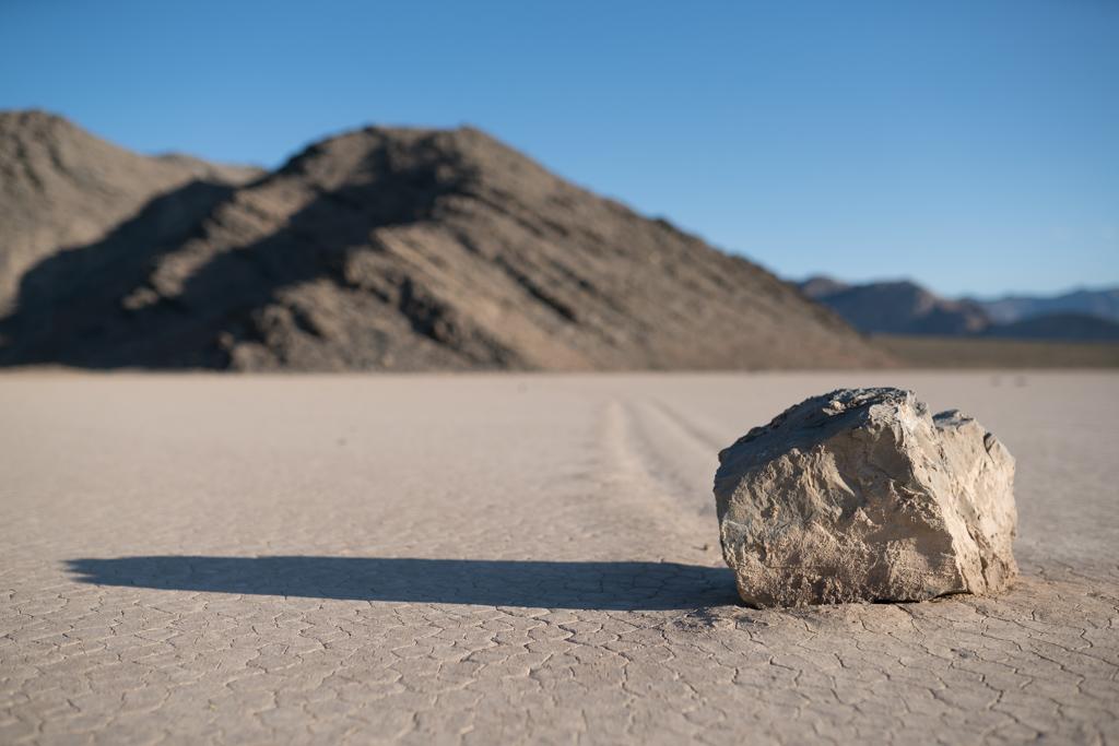 A Raccing Rock