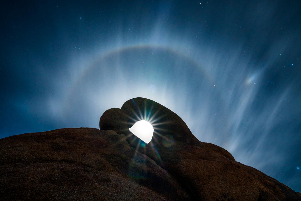 Moon in the Eye